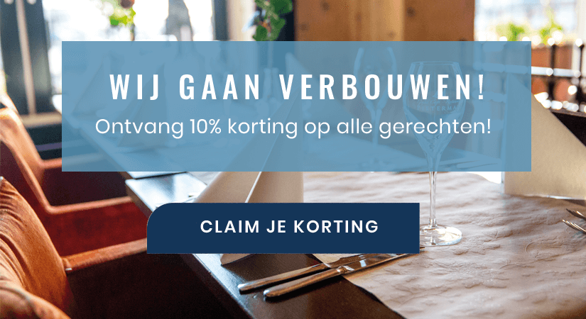 Restaurant Pieterman gaat verbouwen